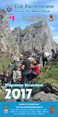 Tutte le gite del 2016 delle 17 sezioni CAI Est Monterosa